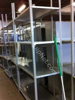 Lot of (15) Steel Shelving Units