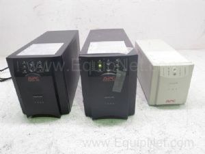 Lot of 3 APC Assorted Smart Uninteruptable Power Supply