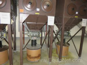 United Air Specialities Dust Hog Dust Collector Model FJH8-2-H55