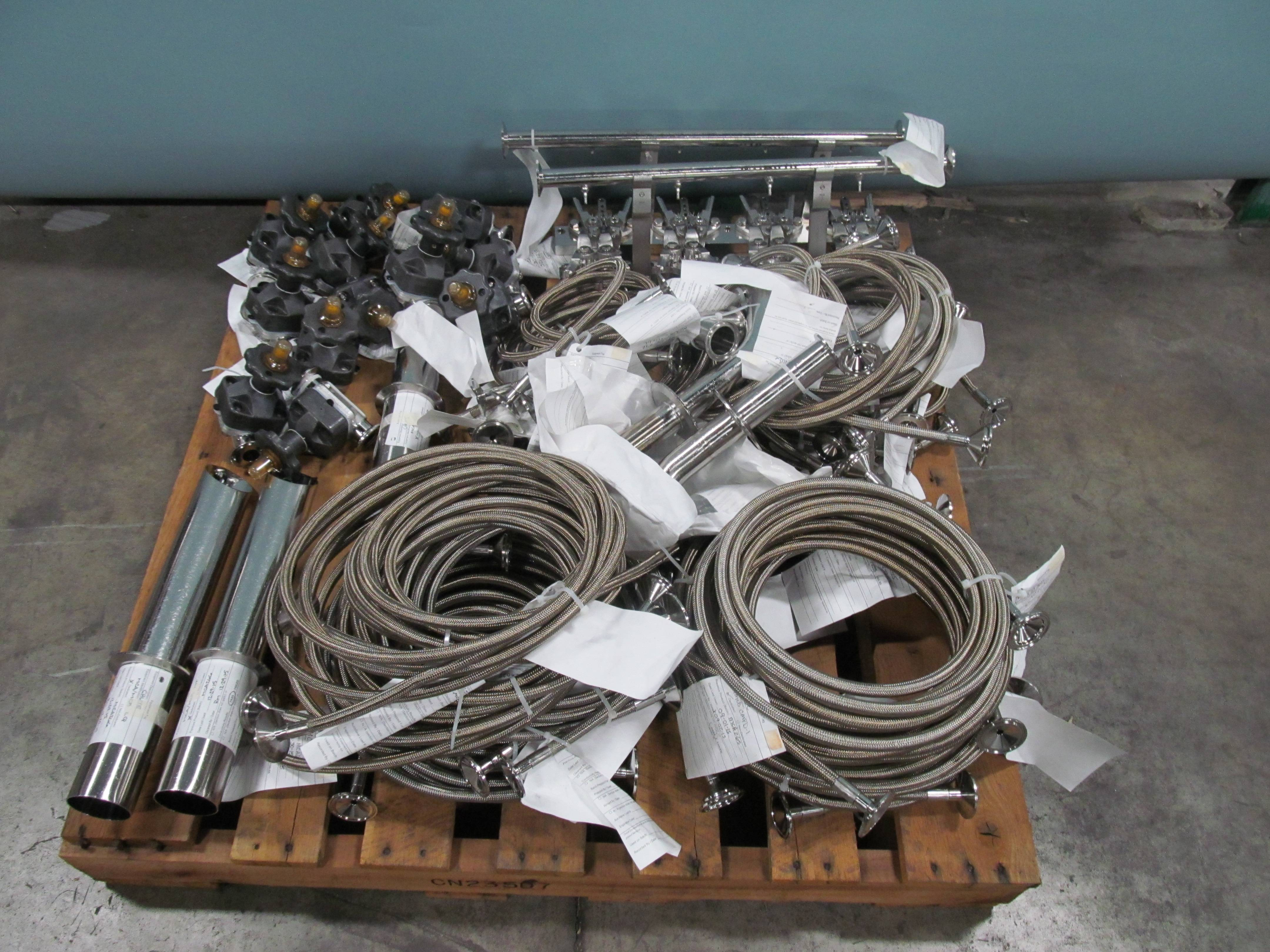 Lot Of Assorted Tank Accessories