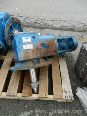 SEW 7.5 HP Top Mount Agitator Drive And Gearbox