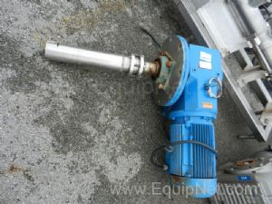 SEW 5/10 HP two Speed Top Mount Agitator Drive And Gearbox