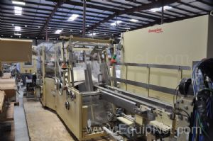 Douglas Tray Loader/Packer and Former Machine