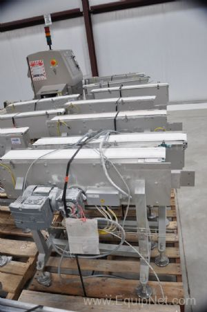 Lot of 6 Transfer Conveyors