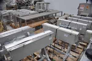 Lot of 7 Transfer Conveyors