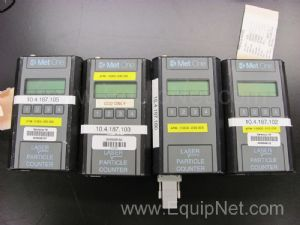 (4)Met One Laser Particle Counters Model 227A.5.1