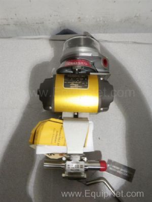 Flowserve 1 Inch Pneumatic Actuated Ball Valve