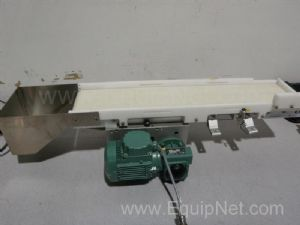 Conveyor Assembly with Collection Bin 30 Inch Long