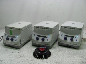 Lot of 3 Eppendorf  5424 Micro Centrifuges