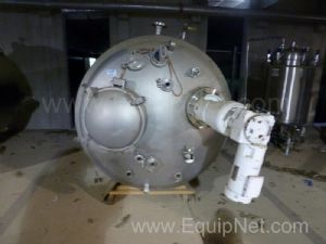 DCI Inc. 2250 Liter Jacketed Stainless Steel Vessel