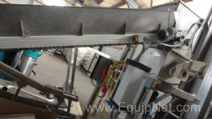 AMMAG Cereal Crushing Machine complete with Infeed Inclined Elevator unit