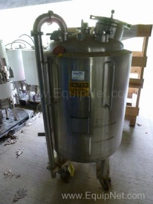 Apache Stainless Equipment Co. 250L Stainless Steel Jacketed Pressure Vessel