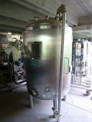 Apache Stainless Equipment Co. 742 Liter Stainless Steel Jacketed And Pressure Vessel