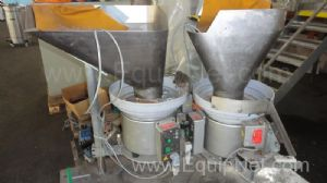 Lot of 2 off Capping Machine Vibratory Cap Feeders