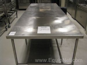Advanced Tabco Stainless Steel Table