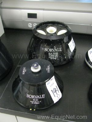 Lot of 2 Sorvall Rotors