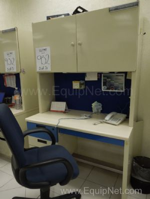 Lote de 5 estaciones individuales de trabajo para laboratrorio- Lot of 5 individual working stations