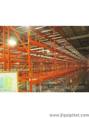 Lot of Pallet Racks Apprx (80) Sections