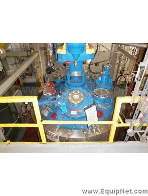 Pfaudler 100 Gallon Glass Lined Reactor R-3200