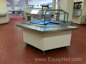Stainless Steel Custom Refrigerated Serving Station