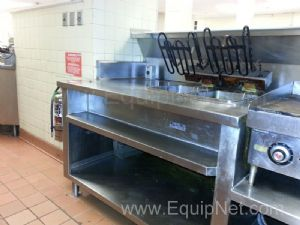 Stainless Steel Double Welled Deep Fryer