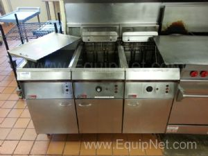 Pitco Stainless Steel Double Well Frialator