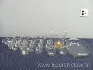 Box of Assorted Glassware