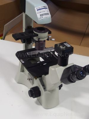 Motic AE31 Inverted Microscope With 6.3 and 10x Objectives