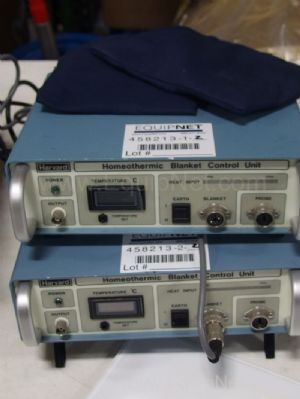 2 Harvard 50-7129 Homeothermic Blanket Control units