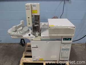Hewlett Packard 6890 Series G1530A Gas Chromatography System With FID And TCD Detectors