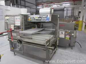 Kallfass GmbH Co. Universa 5050/Compact 650 S Tray Overwrapper And Shrink Tunnel