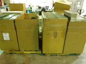 Large Lot of Assorted Stainless Steel Microplate Freezer Racks