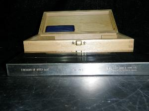 Precision Gauge and Tool Wood Cased PD-250 Fineness of Grind Gauge