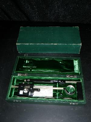 Keuffel and Esser Vintage Paragon Adjustable Arm Compensating Polar Mechanical Planimeter with Box