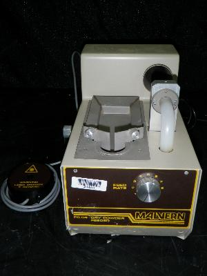 Malvern PS64 Dry Powder Feeder for Lazer Particle Analyzer