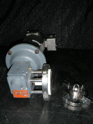Hub City Worm Gear Drive with Continuous Warner Motor