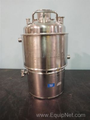 Alloy Products Corp Jacketed Stainless Steel Tank