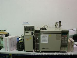 HP 5890 Series II GC with 5971 Mass Selective Detector
