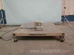 Weigh-Tronix DSL4848-05 Floor Scale