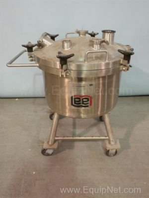 Lee 100L DBT Jacketed Stainless Steel Tank