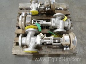 Lot of 3 Samson Globe Valves