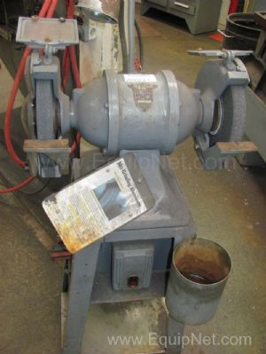 US 10 Inch Grinder Mounted on Stand