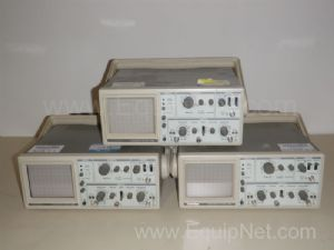 Lot of 3 Goldstar OS-9020A Oscilloscopes
