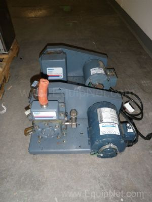 Lot of 1 Welch Model 1400 Duoseal and 1 Model 1399 Duoseal Vacuum Pumps