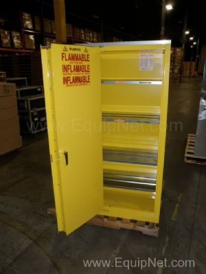 Lot of 2 Flammable Storage Cabinets