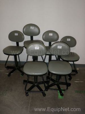 Lot of 6 Lab Stools