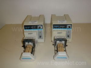 Lot of 2 Cole Parmer Masterflex Console Drive Peristaltic Pumps