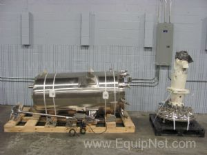 MPC 800 Liter Stainless Steel Jacketed Mixing Vessel
