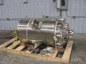 MPC 600 Liter Stainless Steel Jacketed Vessel