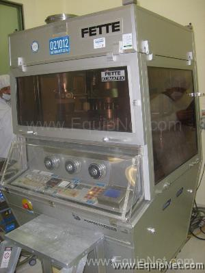 Fette Tablet Press Model Perfecta 2000